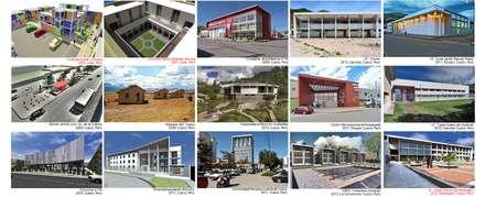 Proyectos de arquitectura: Condominios de estilo  por CARLOS SOTO ARQUITECTO