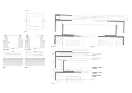 Casa na Cruz de Oliveira: Janelas   por pedro fonseca jorge, arquitetura + design