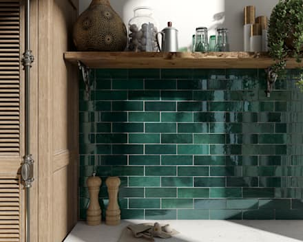Bếp xây sẵn by Equipe Ceramicas