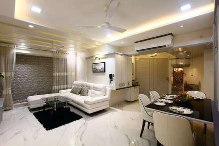 moderne Wohnzimmer von PSQUAREDESIGNS