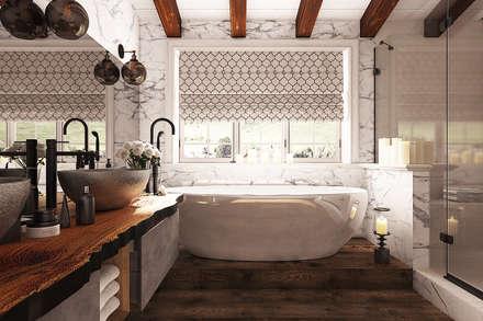 Mediterranean Bathroom By Diveev_studio#ZI