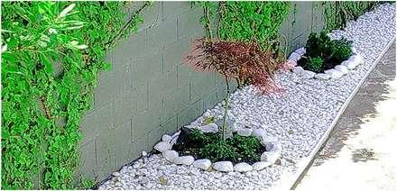 Como Decorar Jardines Con Piedras De Rio Diseo De Pisos Jardines De - Jardin-con-piedras