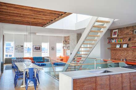 Red Hook Townhouse:  Kitchen units by Sarah Jefferys Design