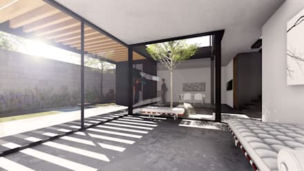 Single family home by gOO Arquitectos