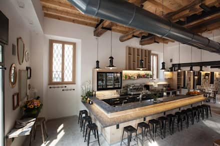PCube Restaurant, Italien:  Gastronomie von Mosaic del Sur