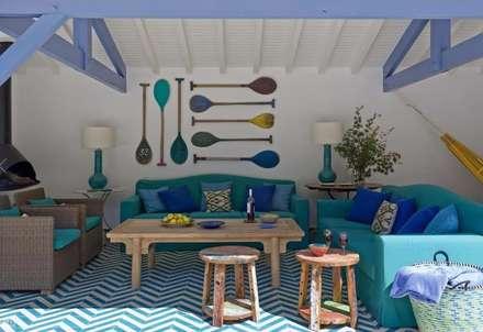 Biarritz, Melián Randolph Stil:  Gastronomie von Mosaic del Sur
