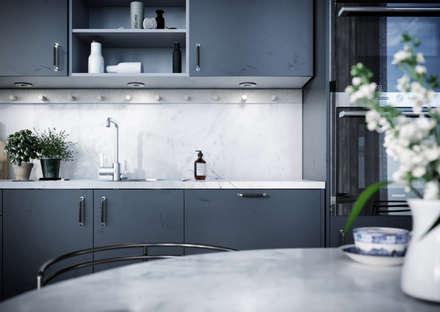Architectural Visualisation - Scandinavian Interior : scandinavian Kitchen by WEMAPOUT