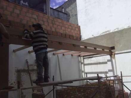 Remodelacion.: Espacios comerciales de estilo  por Omar Plazas Empresa de  Diseño Interior, remodelacion, Cocinas integrales, Decoración