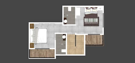 First floor plan:  Floors by Space Alchemists