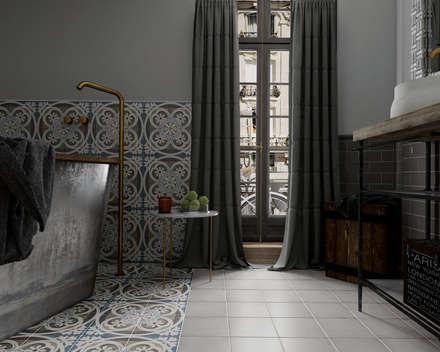 mediterranean Bathroom by Equipe Ceramicas