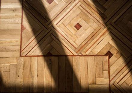 Reforma integral Altamirano: Suelos de estilo  de Vivienda Sana
