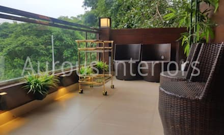Terrasse von Aurous Interiors