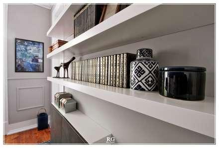 The Nicchie Office: Escritórios e Espaços de trabalho  por RG Home Stylist