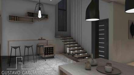 Interiorismo Casa De Sousa: Baños de estilo moderno por Arq. Gustavo García