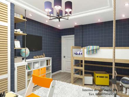 Дизайн интерьера комнаты для мальчика подростка: Детские спальни в . Автор – Interior design studio NaTaLi ( Студия дизайна интерьера Натали)