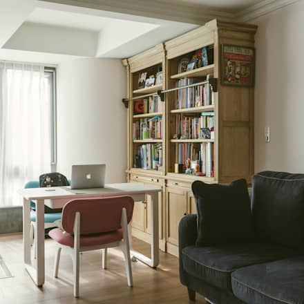 classic Study/office by 大觀創境空間設計事務所