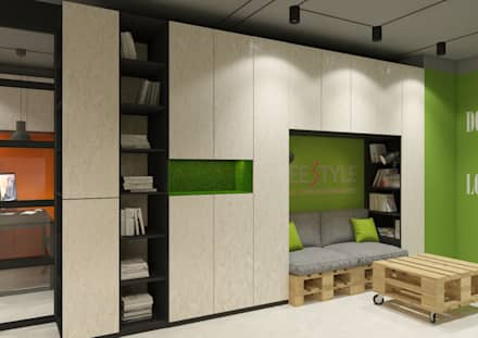 مكتب عمل أو دراسة تنفيذ Дизайн Студия 33