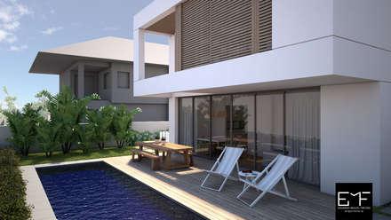 Terrace by EMF arquitetura
