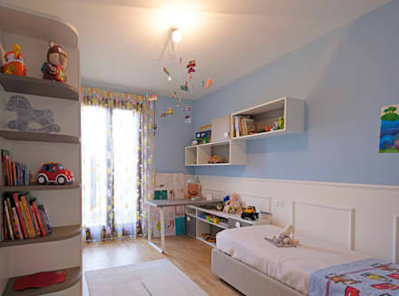 Stanza dei bambini idee immagini e decorazione homify - Camera ragazzo idee ...