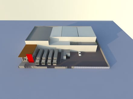 قبو النبيذ تنفيذ Incubar: Arquitectura & Construcción