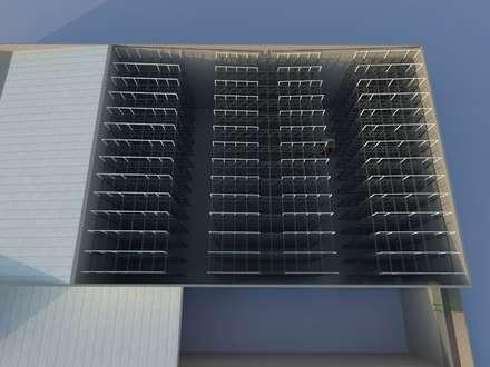 industrial Wine cellar by Incubar: Arquitectura & Construcción