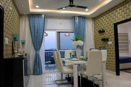غرفة السفرة تنفيذ Enrich Interiors & Decors