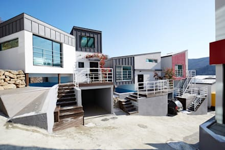 The Secret Pool Villa Resort 북한강(가평) Type Steel④: IAMDESIGN.의  호텔