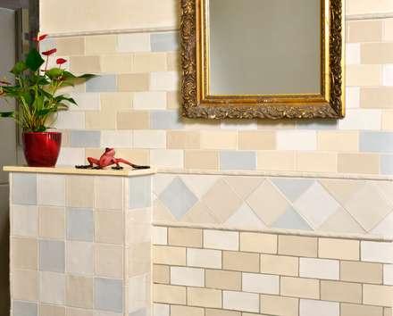 Antik Crackle: Mediterrane Badezimmer Von KerBin GbR Fliesen Naturstein  Mosaik
