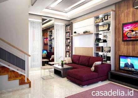 Casa Delia Residence:  Koridor dan lorong by Casa Delia