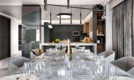 VERO CONCEPT MİMARLIK – Kalafatoğlu Villa İç Mekan: modern tarz Yemek Odası