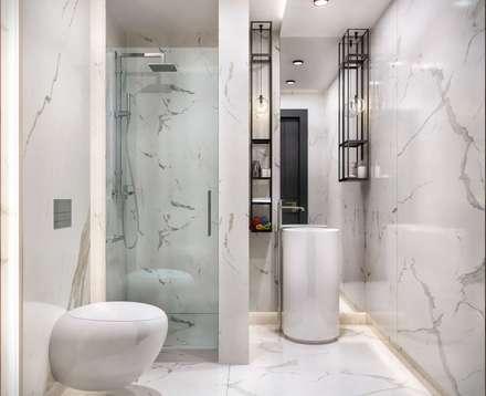 VERO CONCEPT MİMARLIK – Kalafatoğlu Villa İç Mekan: modern tarz Banyo