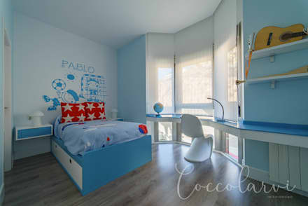 Boys Bedroom by Coccolarvi