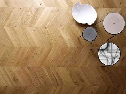 Listone Giordano | Atelier Heritage Spina Punto d'Ungheria 60° Civita 1140 Traccia: Pavimento in stile  di SantaChiara39 | Listone Giordano