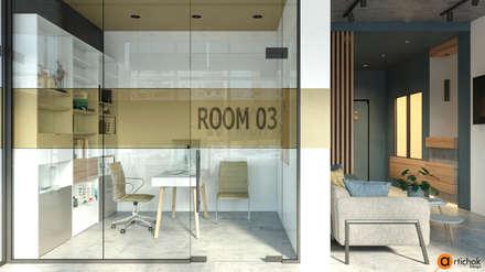 Дизайн офиса в стиле лофт: Офисы и магазины в . Автор – Art-i-Chok