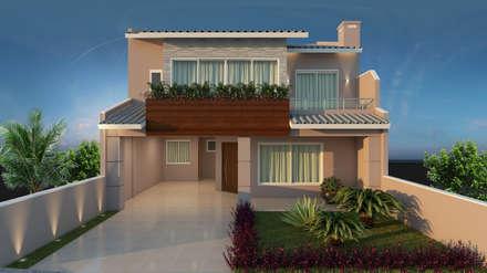 classic Houses by Adriana Costa Arquitetura