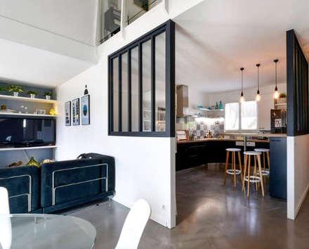 MAISON BORDEAUX Tresses: Salle à manger de style de style Scandinave par Julie Chatelain