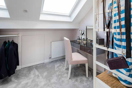 Tooting Whole House Renovation: classic Dressing room by Model Projects Ltd
