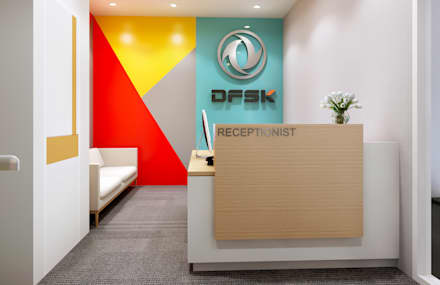 FRESH START FOR NEW CAR SHOWROOM & OFFICE @ GANDARIA, SOUTH JAKARTA:  Dealer mobil by PT. Dekorasi Hunian Indonesia (D&H Interior)