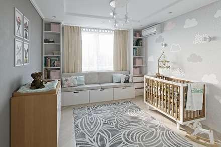 Квартира в Москве: Детские комнаты в . Автор – V.O.concept studio