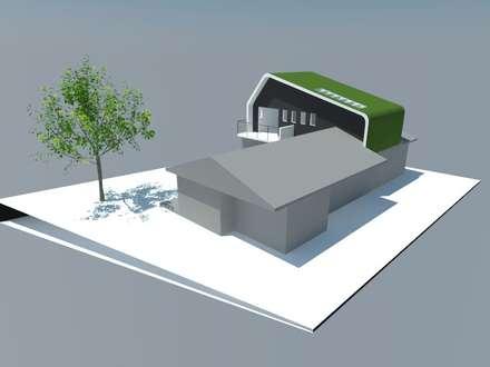 2: Comedores de estilo minimalista por OMD Arquitectos