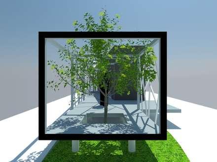1: Escaleras de estilo  por OMD Arquitectos