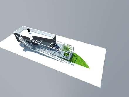 3: Escaleras de estilo  por OMD Arquitectos