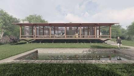 Rumah pedesaan by ArqClub - Studio de Arquitetura