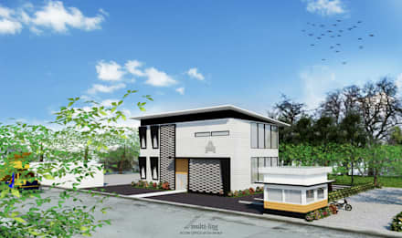 Acon Office Building:  Gedung perkantoran by Multiline Design