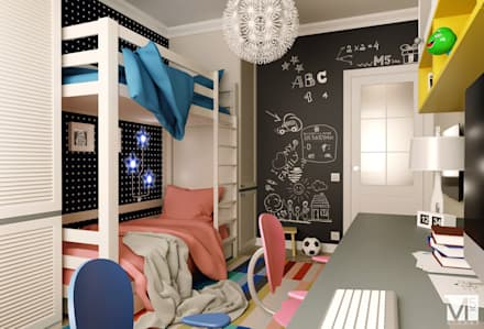 Teen bedroom by M5 studio