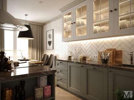 Проект CONTEMP: Кухонные блоки в . Автор – M5 studio