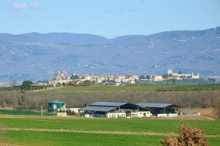 .: Casa di campagna in stile  di Morelli & Ruggeri Architetti