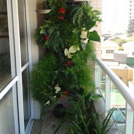 Jardines zen de estilo  por Amaria Gonçalves - Design Paisagismo