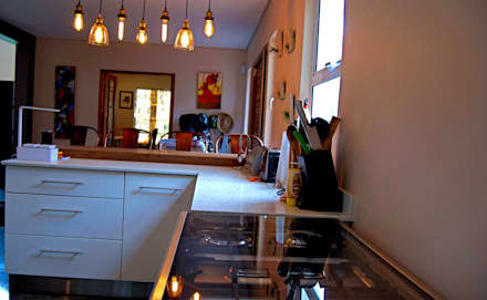 Mik & Steph Szecsei:  Kitchen units by Capital Kitchens cc