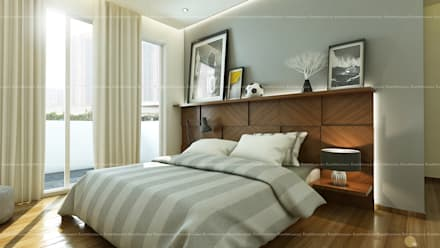 moderne Schlafzimmer von Fabmodula